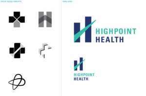 Logo concepts and final logo